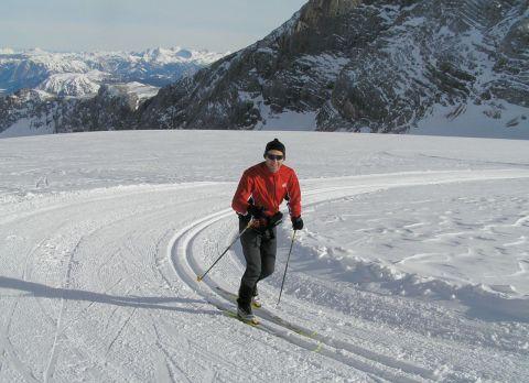 Skidåkning på glaciären Dachstein 31 jaanuari 2006