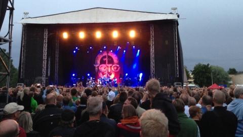 Legendariska Toto på scen i Jakobstad den 5 juli 2013