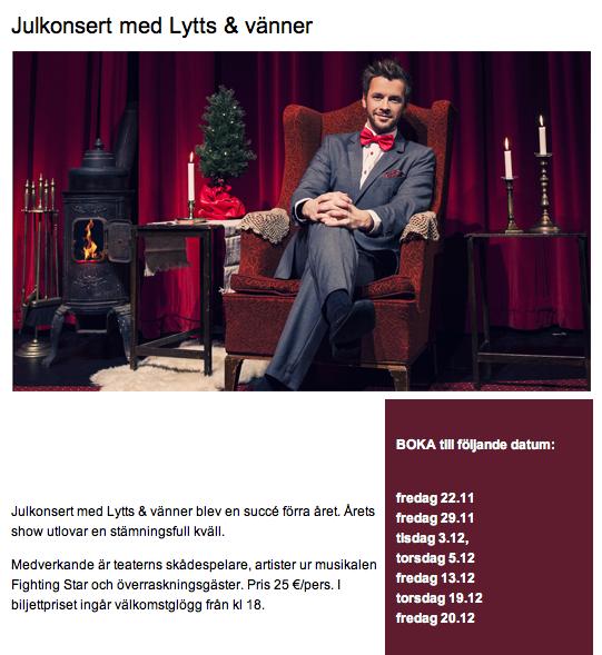 Kopierat från Wasa Teaters annons.