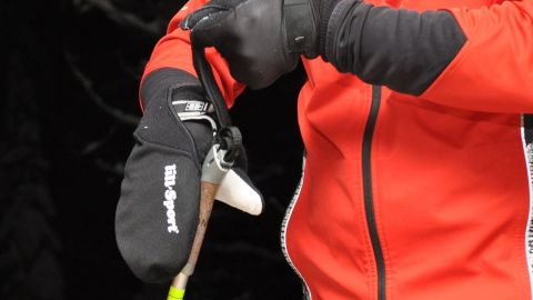 Med lill Sports Overstrap lämnar remmen innanför.
