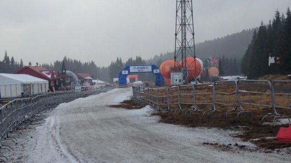 Upploppet på Bieg Piastow-banan dagen innan 2014-års lopp.