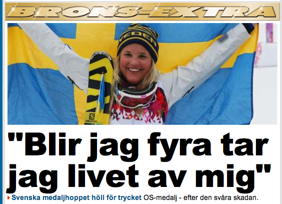 Saxat från Expressen 21.2.2014