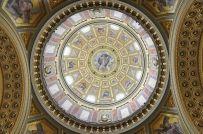 Takkupolen i Sankt Stefansbasilikan är nästan 100 meter hög!