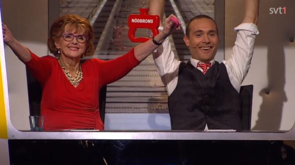 På spåret vinnare 2015 Bilden lånad av SVT.