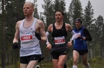 Mkko Tolonen, 1503, från Uleåborg vann halvmaraton på tiden 1:13:04.