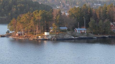 Inspelningsplats lör TV-programmet Renées brygga.