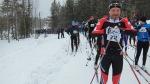 Starten för det första Ylläs-Levi Ski Marathon blev flyttad till Riemuliiteri.