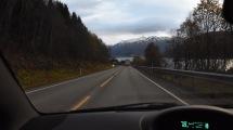 E8 söder om Tromsö