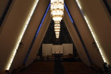Ishavskatedralen, interiör