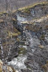 Ravin mellan Skibotn och Kilpisjärvi
