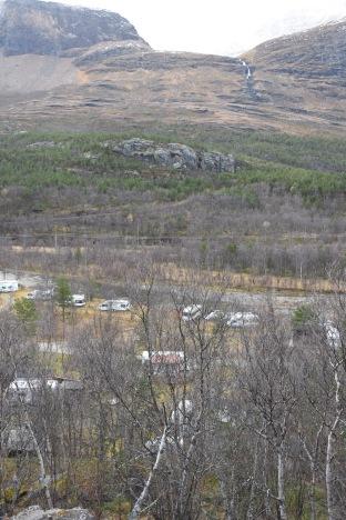 Husvagnscamping i dalbottnen