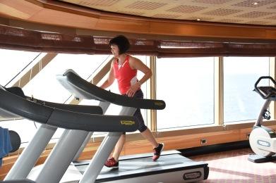Träningspass på gymmet