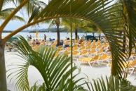 Beach på Roatan, Honduras