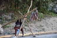 Fiskhandlare i Ocho Rios