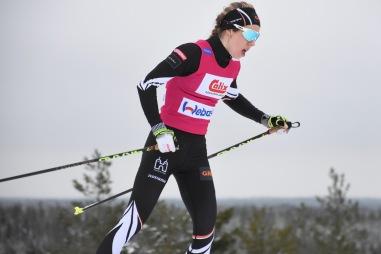 Laura Mononen, Hämeenlinnan Hiihtoseura. Dagens tvåa