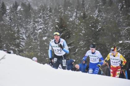Perttu Hyvärinen, Puijon Hiihtoseura. Finsk mästare